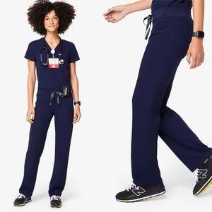 Figs   Navy Livingston Basic Scrub Pants